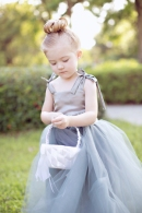 Souther Weddings Real Wedding Inspiration, Flower girl in tulle http://bit.ly/JcOOa8