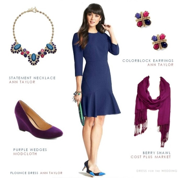 Fall Outdoor Wedding Guest Attire